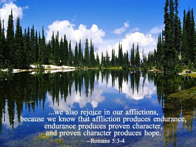 Cause to rejoice