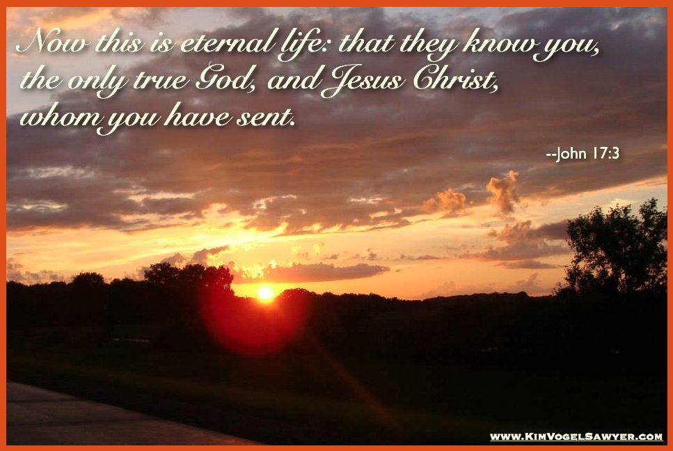 Eternal life with Him