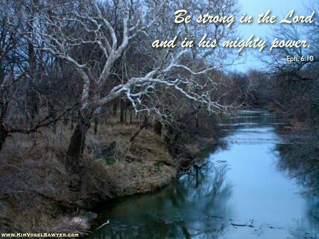 'Be Strong in the Lord'