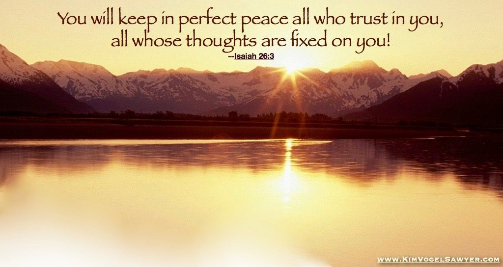 His perfect peace
