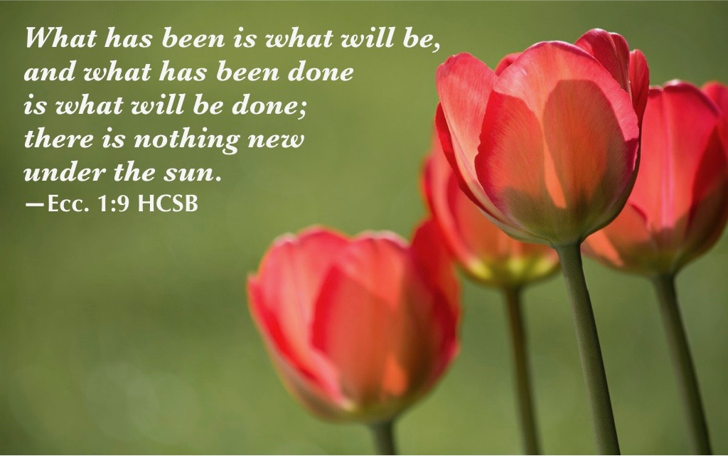 He makes things new